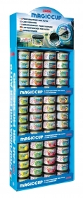 Magic-Cup, espositore da appendere con 60 pz assortiti