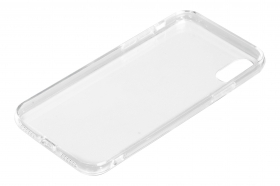 Clear Cover, cover trasparente rigida con cornice in gomma - Apple iPhone X