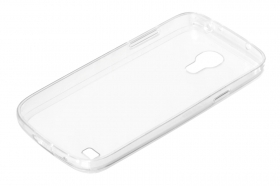 Clear Cover, cover trasparente rigida con cornice in gomma - Samsung Galaxy S4 Mini