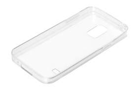 Clear Cover, cover trasparente rigida con cornice in gomma - Samsung Galaxy S5 Mini