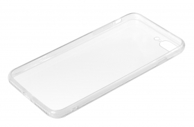Clear Cover, cover trasparente rigida con cornice in gomma - Apple iPhone 7 Plus / 8 Plus